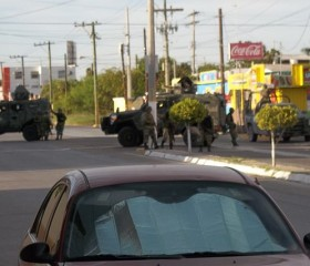 Mexican military fighting drug cartels
