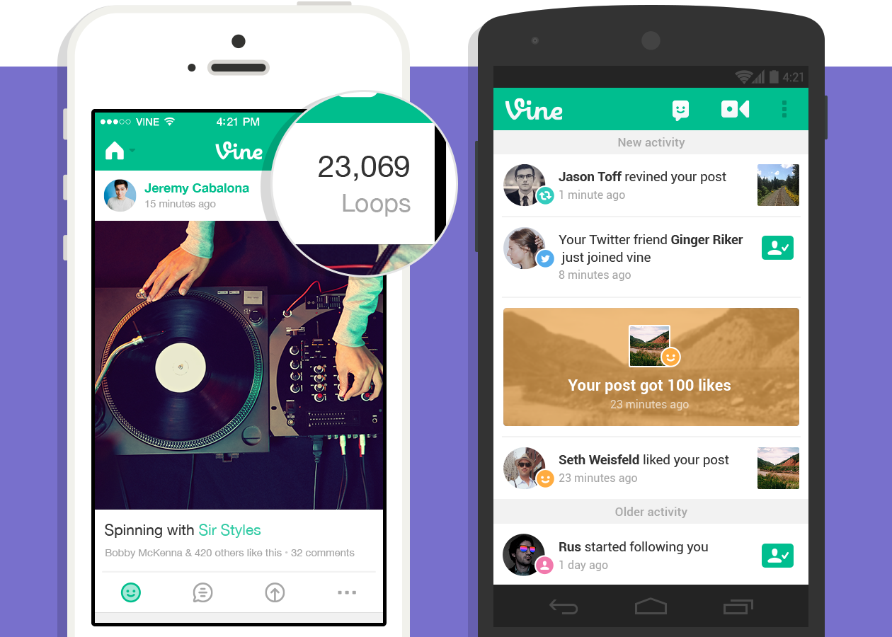 Vine Now Allows Users to Upload Video Directly From Their Phone : Tech : Latin Post