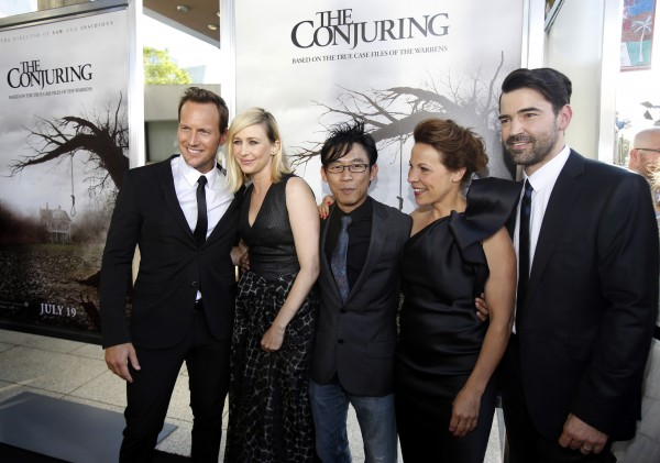 The Cast of The Conjuring
