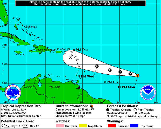 Tropical Depression 2