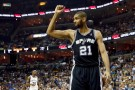 San Antonio Spurs Power Forward Tim Duncan