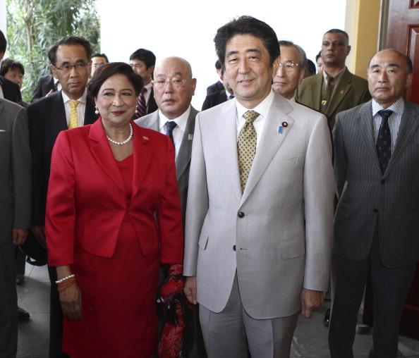 Japanese Prime Minister Shinzo Abe in Latin America