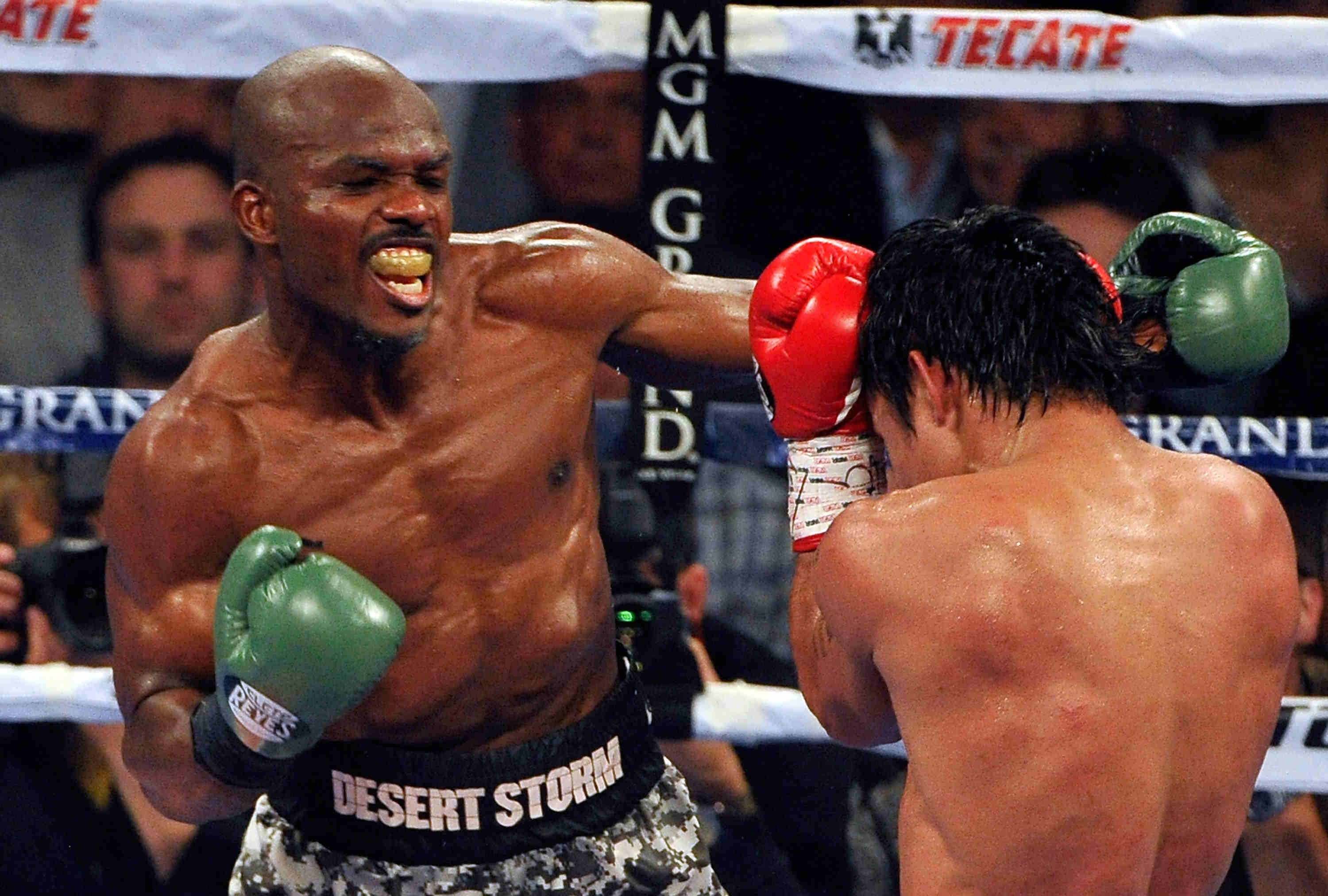 recent boxing title fights