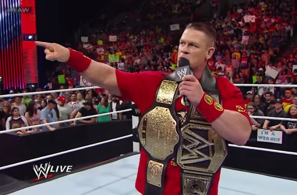 Wwe news and rumors why john cena is what s best for business for wwe