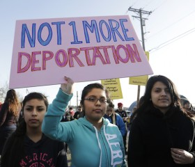 immigration immigrant protest deportation