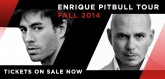 Enrique Iglesias and Pitbull fall tour