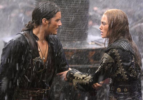 keira knightley and orlando bloom star in pirates of the caribbean 5