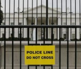 Fence-Jumper Ran Through Much of Main Floor of White House