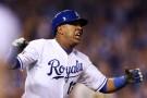 Kansas City Royals hitter Salvador Perez