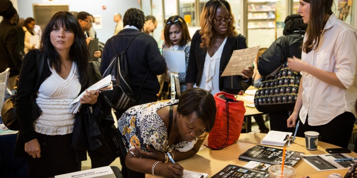 Job Fair Held At Bronx Public Library