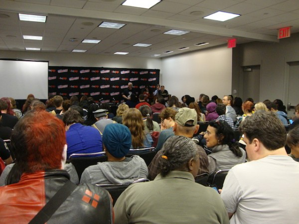 The #WeNeedDiverse(Comic)Books session at New York Comic Con on Oct. 9, 2014.