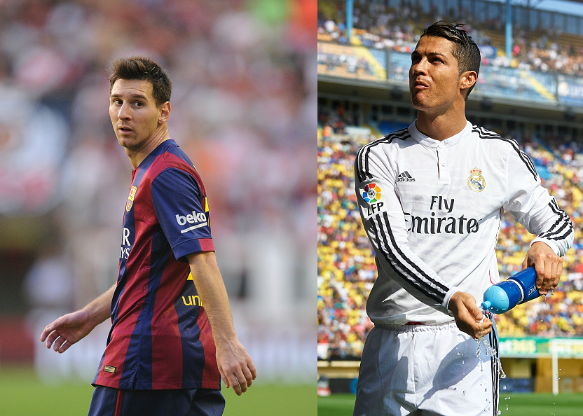 Messi 2014 Clasico Messi vs Ronaldo 2014-15 Who