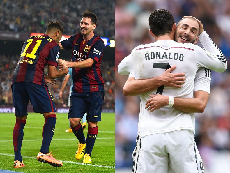 Messi 2014 Clasico Clasico 2014-15 Messi vs