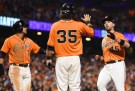 San Francisco Giants Take 1-0 Lead Over Kansas City Royals in 2014 World Series