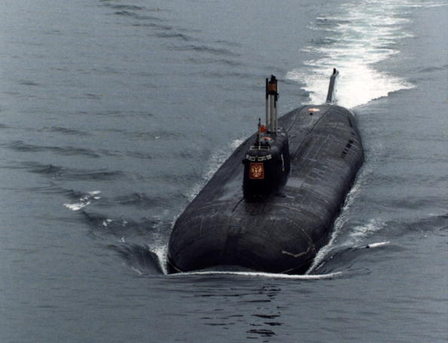 Swedes suspect a troubled Russian sub off Stockholm's coast