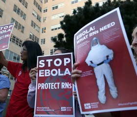 California Nurses Call For Better Training For Treating Ebola Patients