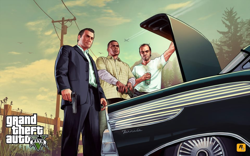 Grand Theft Auto V Release Date Pictures to pin on Pinterest