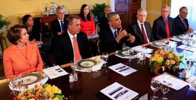 President Obama Hosts Congressional Leaders At White House