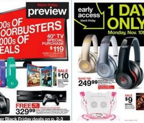 Target Unveils Black Friday Sales