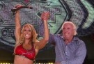 Charlotte Celebrates Winning The NXT Divas Championship With Her Father Ric Flair