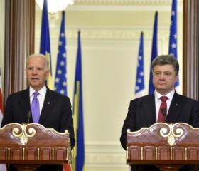 "Russia's behavior in Ukraine a ""flagrant violation,"" Biden says"