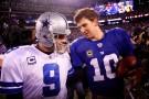 New York Giants, Dallas Cowboys  Play on NFL Sunday Night Football