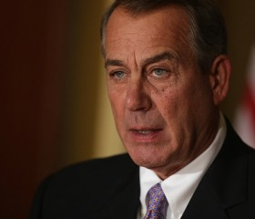 John Boehner Delivers A Statement On Obama Immigration Action