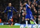 Wayne Rooney (L) Helps Man U Defeat Arsenal While Diego Costa (R) Scores His 11th Goal of the Season in Chelsea's 2-0 Victory Over West Bromwich Albion