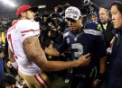 San Francisco 49ers Colin Kaepernick and Seattle Seahawks Russell Wilson