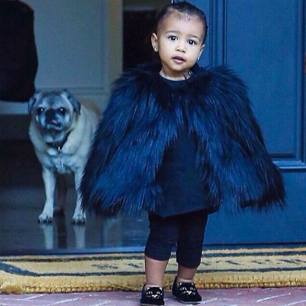 North West Baby Pictures 2014: Kim Kardashian Shares Photos of Baby