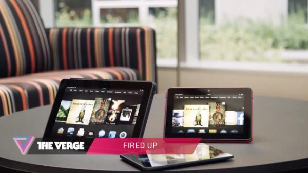 Amazon's Kindle Fire HDX tablets