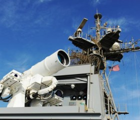 The LaWS Aboard USS Ponce