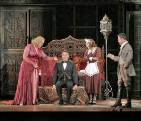 "A star-laden cast lifts Richard Eyre's terrific ""Nozze di Figaro"" production to new heights."
