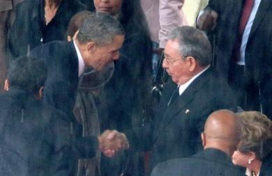 US president barack obama cuba raul castro