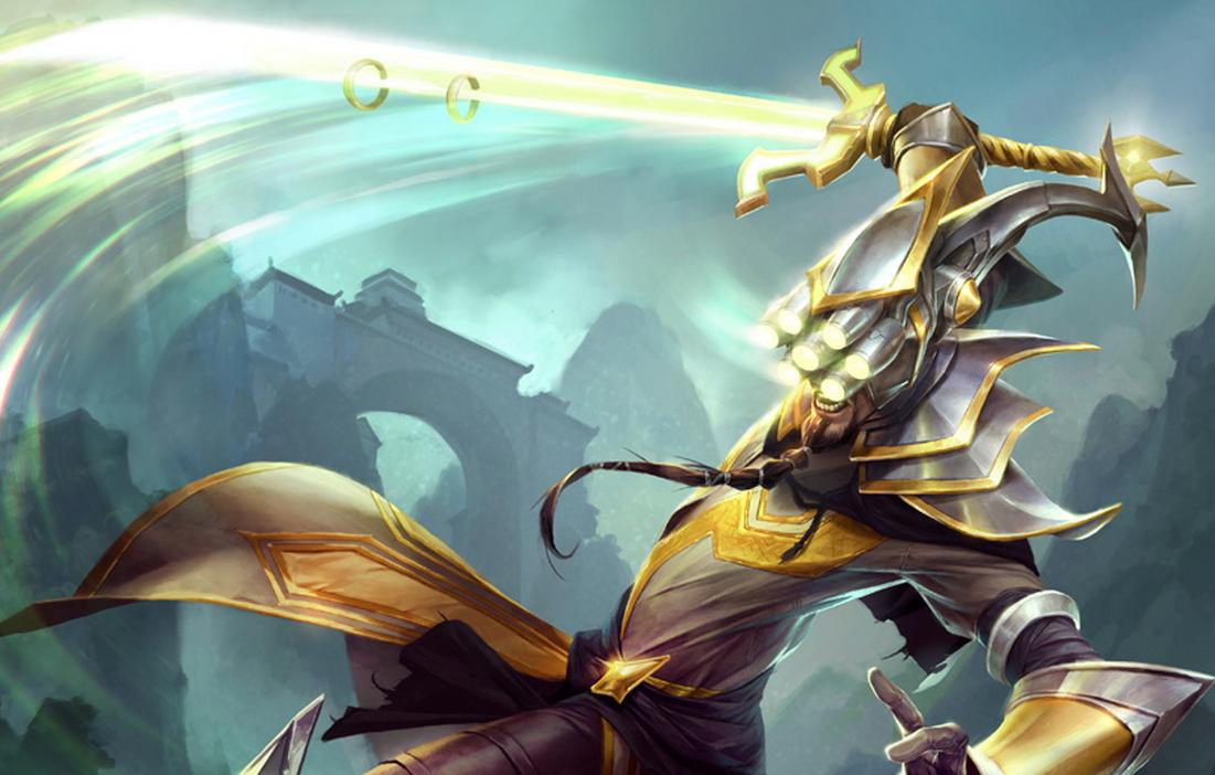 LEAUGE OF LEGENDS HEROS: Master Yi