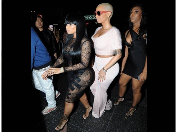 Amber Rose And Blac Chyna Twerking Video Goes Viral  Entertainment