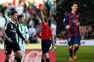Messi is on fire, Ronaldo was fired from Madrid's match against Cordoba after slapping Edimar.