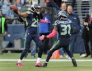 Seattle Seahawks Cornerback Richard Sherman and Safety Kam Chancellor