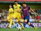 Lionel Messi and Bruno Soriano