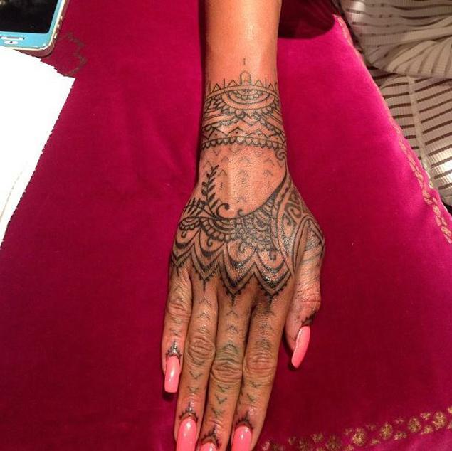 Rihanna Tattoo Meaning...