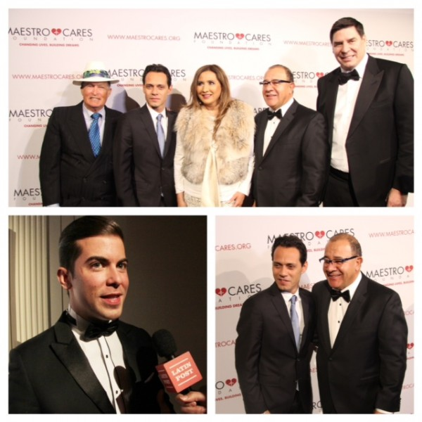 Marc Anthony & Henry Cárdenas, co-founders of The Maestro Cares Foundation