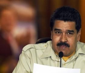 Venenzuelan President Nicolas Maduro