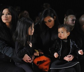 Kim Kardashian, Kanye and North West