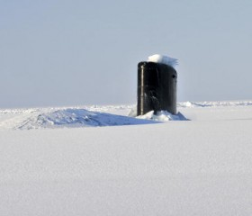 USS Annapolis in the Arctic
