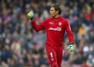 Valencia Goalkeeper Diego Alves
