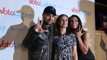 voto Latino Rosario Dawson Wilmer Valderrama Maria Teresa Kumar