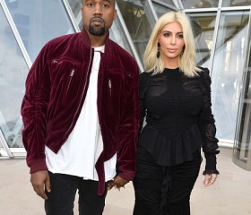 Kanye West and Kim Karrdashian