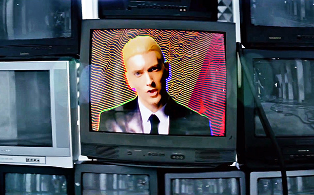 Eminem MMLP2 New Album Update Your Music Remixes Eminem Eyes