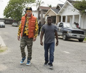 """Get Hard"" Stars Kevin Hart and Will Ferrell"