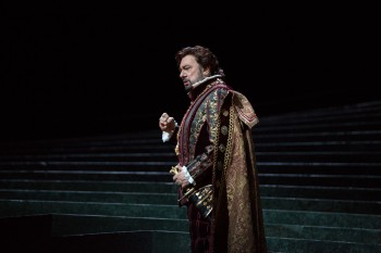 "Placido Domingo (pictured here as King Carlo V in Verdi's ""Ernani"") is still king of the opera world. And he is committed to helping it grow."